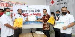 PMI Makassar Terima Bantuan APD dari PT EII