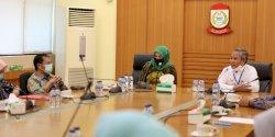 Yusran Terima Kunjungan DPRD Sulsel terkait Persiapan New Normal