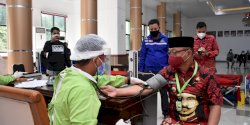 Bantu Ketersediaan Kantong Darah di  Masa Pandemi Covid-19, Pemkab Gowa Gelar Donor