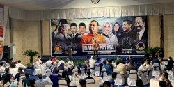 DP Beri Semangat Kemenangan di Hadapan Petinggi NasDem-Gerindra