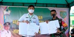 Pemkab Gowa Serahkan Rumah Dinas Asrama Kodim 1409 di Pallangga