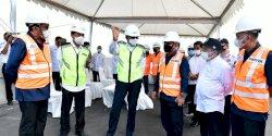 Gubernur Tinjau Proyek Jalan Tol Layang Ujung Pandang
