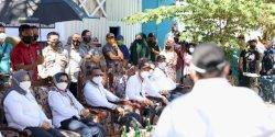 Sosialisasi Masker, Prof Nurdin dan Prof Rudy Dialog dengan Warga Pulau Lae-Lae