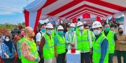Ketua DPRD Hadiri Groundbreaking Pedestrian Tanjung Bunga