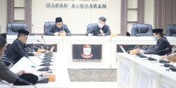 Bapemperda Rapat Bahas Ranperda Perubahan  BPR Menjadi Perseroda