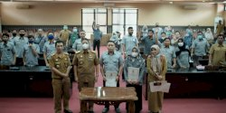 Staf Khusus DPRD Makassar Lakukan Penandatanganan Pakta Integritas