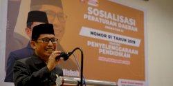 Sosialisasi Perda Pendidikan, Muchlis Misbah Jamin Peserta Didik Terakomodir