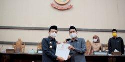 DPRD Makassar Sahkan APBD 2021 dan Propemperda 2021