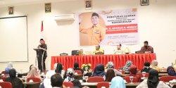 Sosialisasi Perda Kepemudan, Muchlis Misbah Beri Garansi Pemuda Berkembang