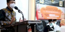 DWP Kota Makassar Rayakan Maulid, Pj Wali Kota Tekankan Penegakan Protokol Kesehatan