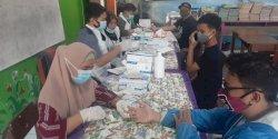 1.323 Petugas KPPS dan Limnas Se-Kecamatan Makassar  Jalani Rapid Test