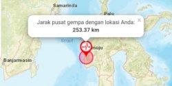 Majene Dilanda Gempa Magnitudo 6,2, Terasa Sampai ke Makassar