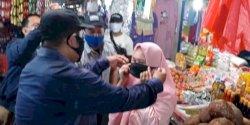 Tekan Penyebaran COVID-19, PD Pasar Makassar Masif Lakukan Pengawasan dan Sosialisasi Prokes