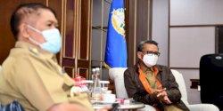 Bupati Bulukumba Bahas Bandara Wisata ke Gubernur Nurdin Abdullah