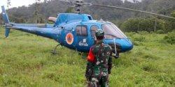 Cuaca Buruk, Helikopter BNPB Mendarat Darurat di Polman