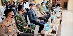 Bersama Forkopimda, Ketua DPRD Makassar Turut Hadir dalam Pencanangan Vaksin COVID-19