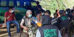 Percepat Penanganan Korban Gempa Sulbar, Tim SAR Dompet Dhuafa Bangun Pos di 5 Titik