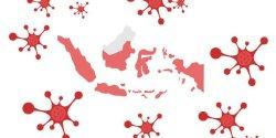 Ini Daftar 54 Zona Merah COVID-19 di Indonesia