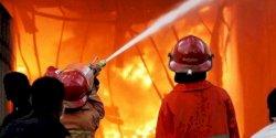 Kebakaran di Bontoduri Makassar, Damkar Kerahkan 25 Armada