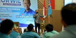 Jadi Pembicara di Rakorwil Partai Gelora Indonesia, Danny Berbagi Pengalaman Politik