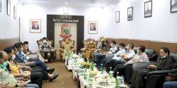 Kunjungan Perdana ke DPRD Makassar, Danny Pomanto Sebut sebagai Pertemuan Luar Biasa