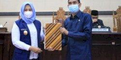 Wakili Wali Kota Makassar, Fatmawati Rusdi Bersama DPR Bahas Penandatanganan Nota Kesepakatan RPJMD 2021-2026