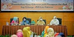 DWP Makassar-DPPPA Makassar Gelar Sosialisasi UPT PPA, Indira Yusuf Jadi Narasumber