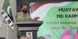 Hadiri Musda II KAHMI, Danny Pomanto Minta Sukseskan Makassar Recover