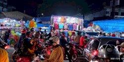 Tak Lagi Bersenggolan, PD Pasar Makassar Berlakukan Sistem Satu Arah Pengunjung Pasar Senggol