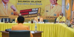 Fraksi Golkar DPRD Sulsel Berbagi untuk Petugas Cleaning Service