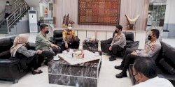 Pimpinan DPRD Kota Makassar Silaturahmi dengan Kapolda Sulsel
