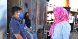 Temui Warga Makassar, Fatmawati Rusdi Serahkan Sembako