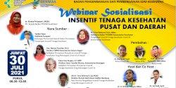 Kemenkes Tunjuk Taufan Pawe Jadi Pemateri Webinar Insentif Tenaga Kesehatan