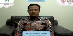 Hadiri HAN 2021 Bersama Jokowi, Ini Pesan Plt Gubernur Sulsel