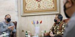 Temui Danny Pomanto, Kepala Bakamla RI Bahas Penempatan Kantor SPD di Makassar