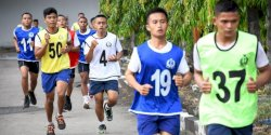 Panda Lantamal VI Gelar Tes Samapta 179 Orang Caba dan Cata PK TNI AL Gelombang II