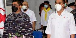 Dukung Ketersediaan Darah di Masa Pandemi, Danlantamal VI Dapat Penghargaan PMI Makassar